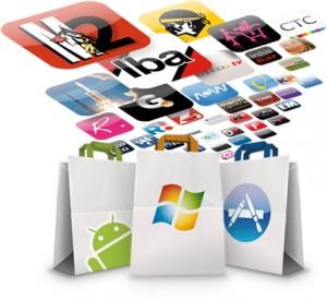 illustration d'application pour tous les mobiles