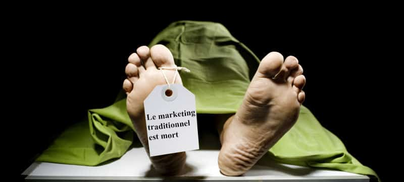 marketing traditionnel mort